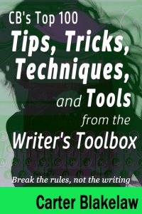 Writing Rules and Toolbox first prototype book cover